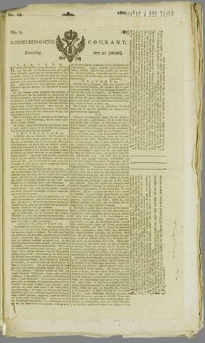Middelburgsche Courant 1809-01-21