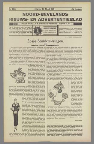 Noord-Bevelands Nieuws- en advertentieblad 1935-03-23