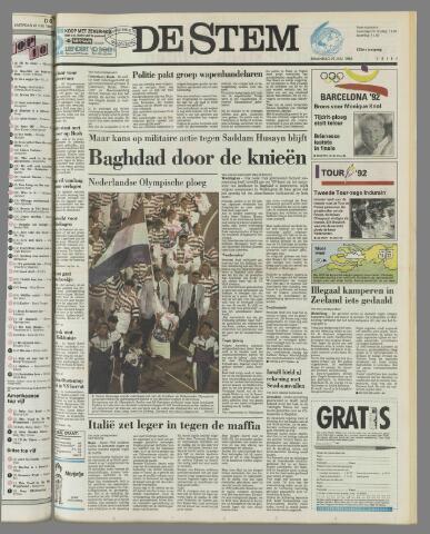 de Stem 1992-07-27