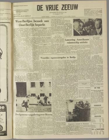 de Vrije Zeeuw 1961-08-24