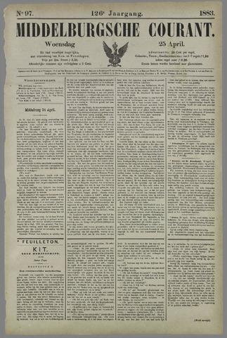 Middelburgsche Courant 1883-04-25