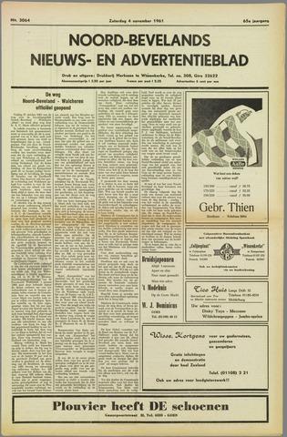 Noord-Bevelands Nieuws- en advertentieblad 1961-11-04