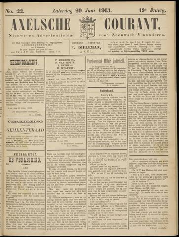 Axelsche Courant 1903-06-20