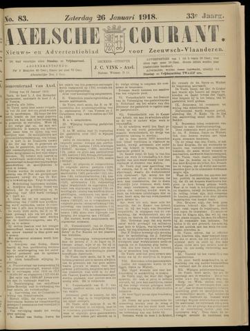 Axelsche Courant 1918-01-26