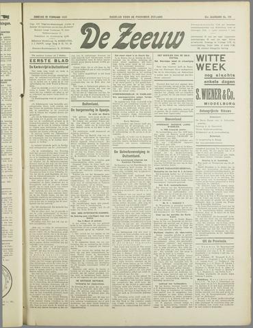 De Zeeuw. Christelijk-historisch nieuwsblad voor Zeeland 1937-02-16