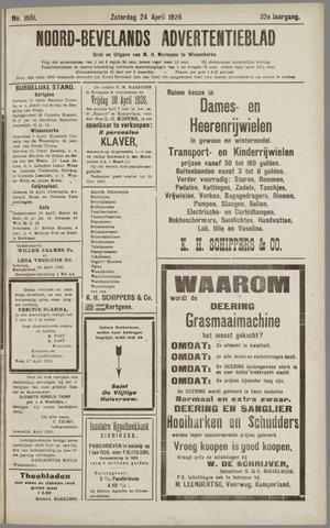 Noord-Bevelands Nieuws- en advertentieblad 1926-04-24