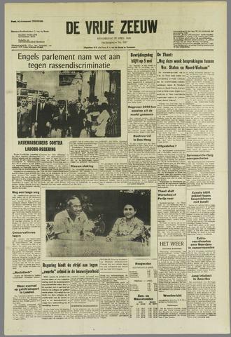 de Vrije Zeeuw 1968-04-25