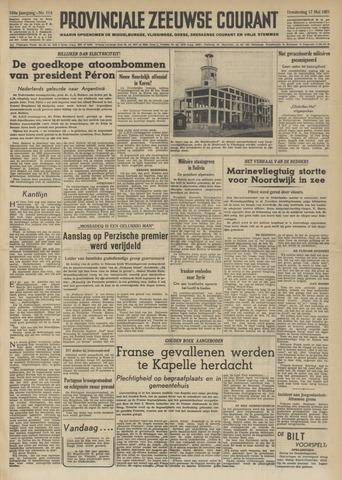 Provinciale Zeeuwse Courant 1951-05-17