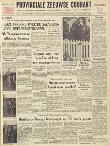 Provinciale Zeeuwse Courant 1963-11-29