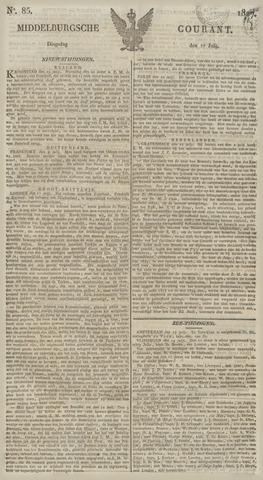 Middelburgsche Courant 1827-07-17