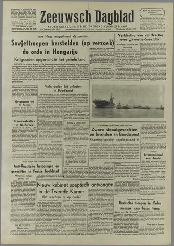 Zeeuwsch Dagblad 1956-10-25