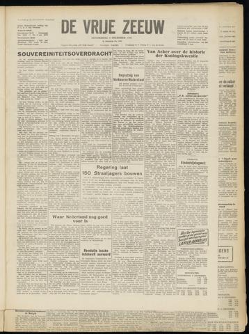 de Vrije Zeeuw 1949-12-08