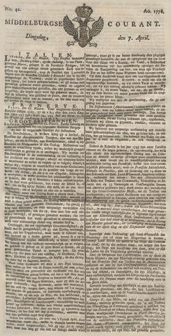 Middelburgsche Courant 1778-04-07