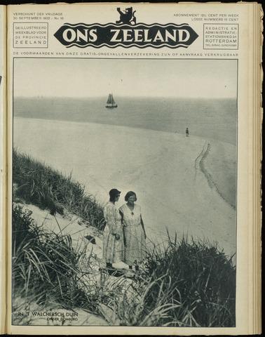 Ons Zeeland / Zeeuwsche editie 1932-09-30
