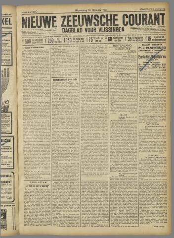 Nieuwe Zeeuwsche Courant 1921-10-19