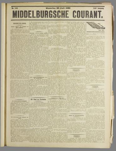 Middelburgsche Courant 1925-07-20