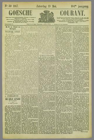 Goessche Courant 1917-05-19