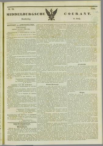 Middelburgsche Courant 1846-06-11