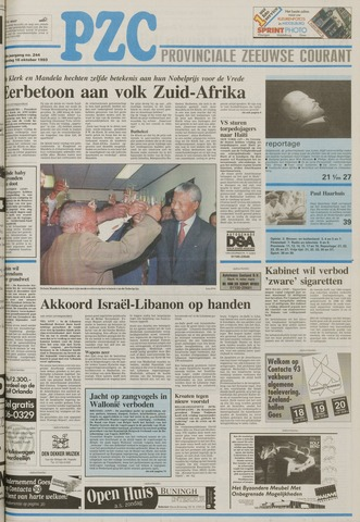 Provinciale Zeeuwse Courant 1993-10-16