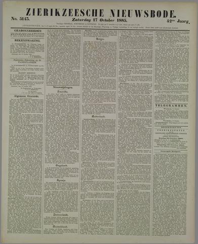 Zierikzeesche Nieuwsbode 1885-10-17