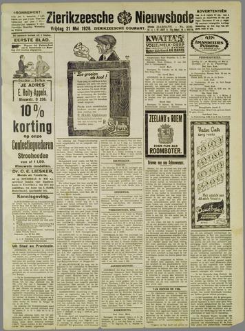 Zierikzeesche Nieuwsbode 1926-05-21