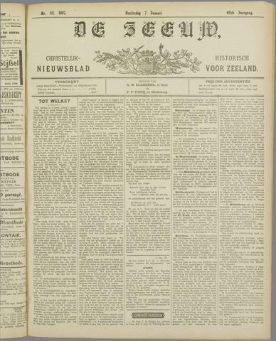 De Zeeuw. Christelijk-historisch nieuwsblad voor Zeeland 1897-01-07