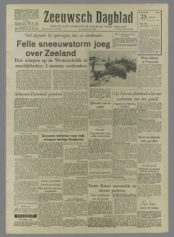 Zeeuwsch Dagblad 1958-01-23