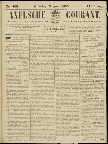 Axelsche Courant 1895-04-13