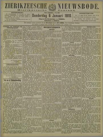Zierikzeesche Nieuwsbode 1910-01-06