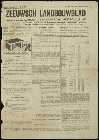 Zeeuwsch landbouwblad ... ZLM land- en tuinbouwblad 1935-04-13