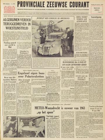 Provinciale Zeeuwse Courant 1963-10-29