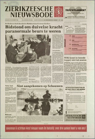 Zierikzeesche Nieuwsbode 1996-11-25