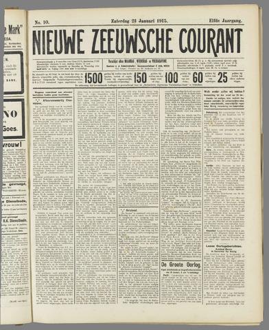 Nieuwe Zeeuwsche Courant 1915-01-23