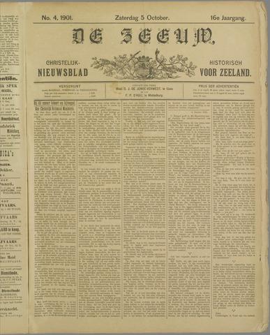 De Zeeuw. Christelijk-historisch nieuwsblad voor Zeeland 1901-10-05