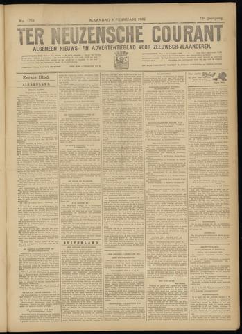 Ter Neuzensche Courant. Algemeen Nieuws- en Advertentieblad voor Zeeuwsch-Vlaanderen / Neuzensche Courant ... (idem) / (Algemeen) nieuws en advertentieblad voor Zeeuwsch-Vlaanderen 1932-02-08