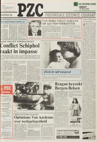Provinciale Zeeuwse Courant 1985-04-20