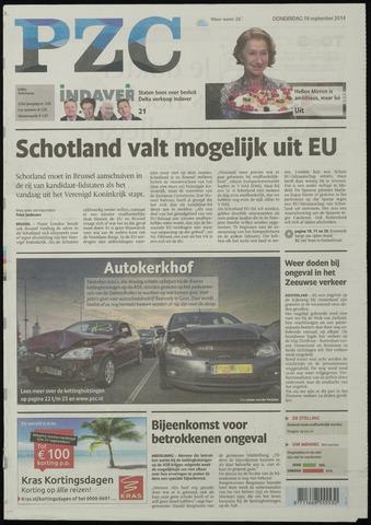 Provinciale Zeeuwse Courant 2014-09-18