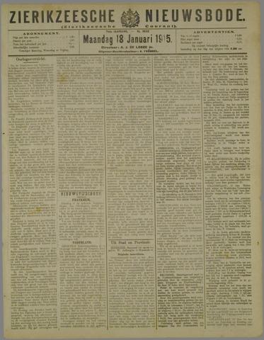Zierikzeesche Nieuwsbode 1915-01-18