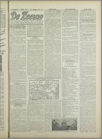 De Zeeuw. Christelijk-historisch nieuwsblad voor Zeeland 1943-04-01