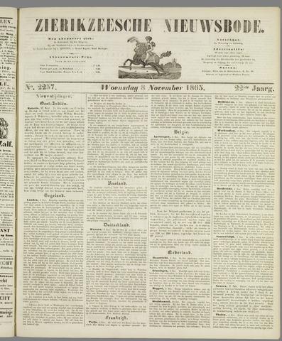 Zierikzeesche Nieuwsbode 1865-11-08