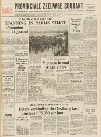 Provinciale Zeeuwse Courant 1968-05-18