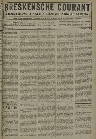 Breskensche Courant 1919-09-13