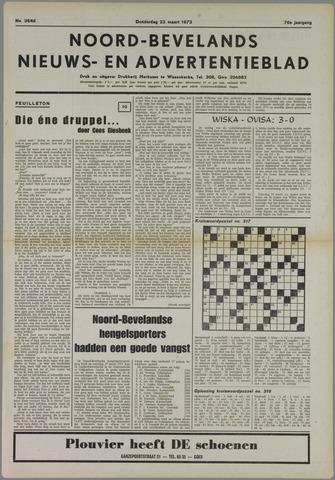 Noord-Bevelands Nieuws- en advertentieblad 1973-03-22