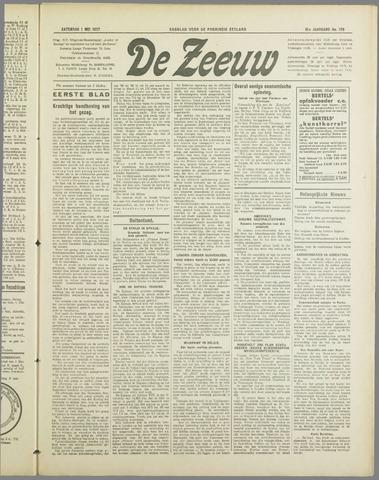 De Zeeuw. Christelijk-historisch nieuwsblad voor Zeeland 1937-05-01