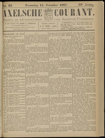 Axelsche Courant 1917-11-14