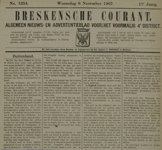Breskensche Courant 1907-11-06
