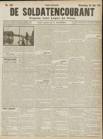 De Soldatencourant. Orgaan voor Leger en Vloot 1917-05-30