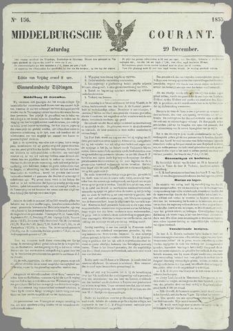 Middelburgsche Courant 1855-12-29