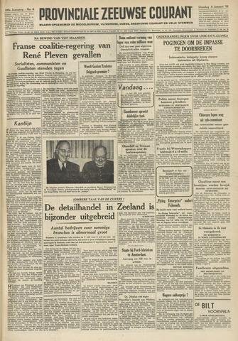 Provinciale Zeeuwse Courant 1952-01-08