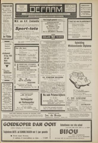 de Faam en de Faam/de Vlissinger 1960-08-19